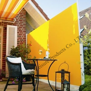 Outdoor Foldable Fence Textilene Fabric For Side Awning