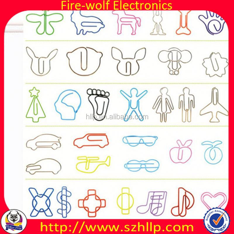 2014 Top Selling Holiday Gift custom heart shaped paper clip Supplier & Exporter