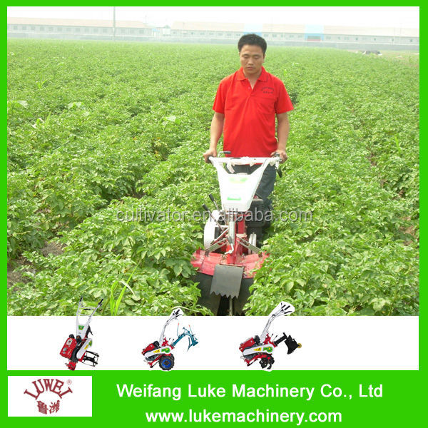 motor potato plough for earthing up hot sale in 2016 in india