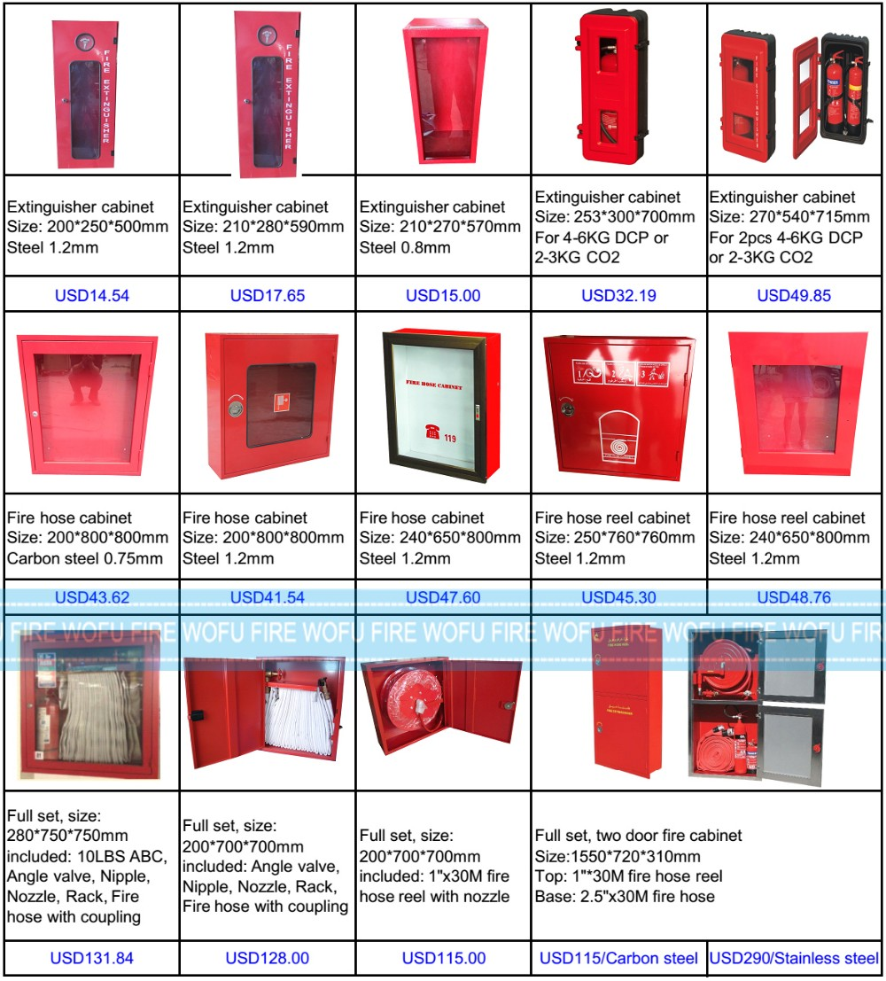 Good Stainless Steel Fire Hose Cabinet With Window