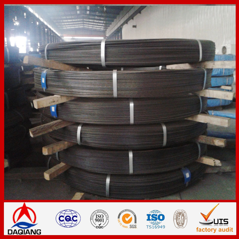 high carbon galvanized needle steel wire