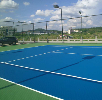 Polyurethane Liquid Tennis Court Floor Coating Buy Floor Coating