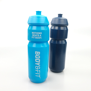 Factory customize Logo BPA FREE Plastic Bicycle Bike Water Bottle Outdoor Sports Water Bottle