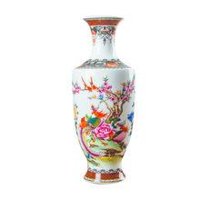 Новое поступление Классическая традиционная антикварная китайская фарфоровая ваза для цветов Цзиндэчжэнь для декора дома и офиса(Китай)