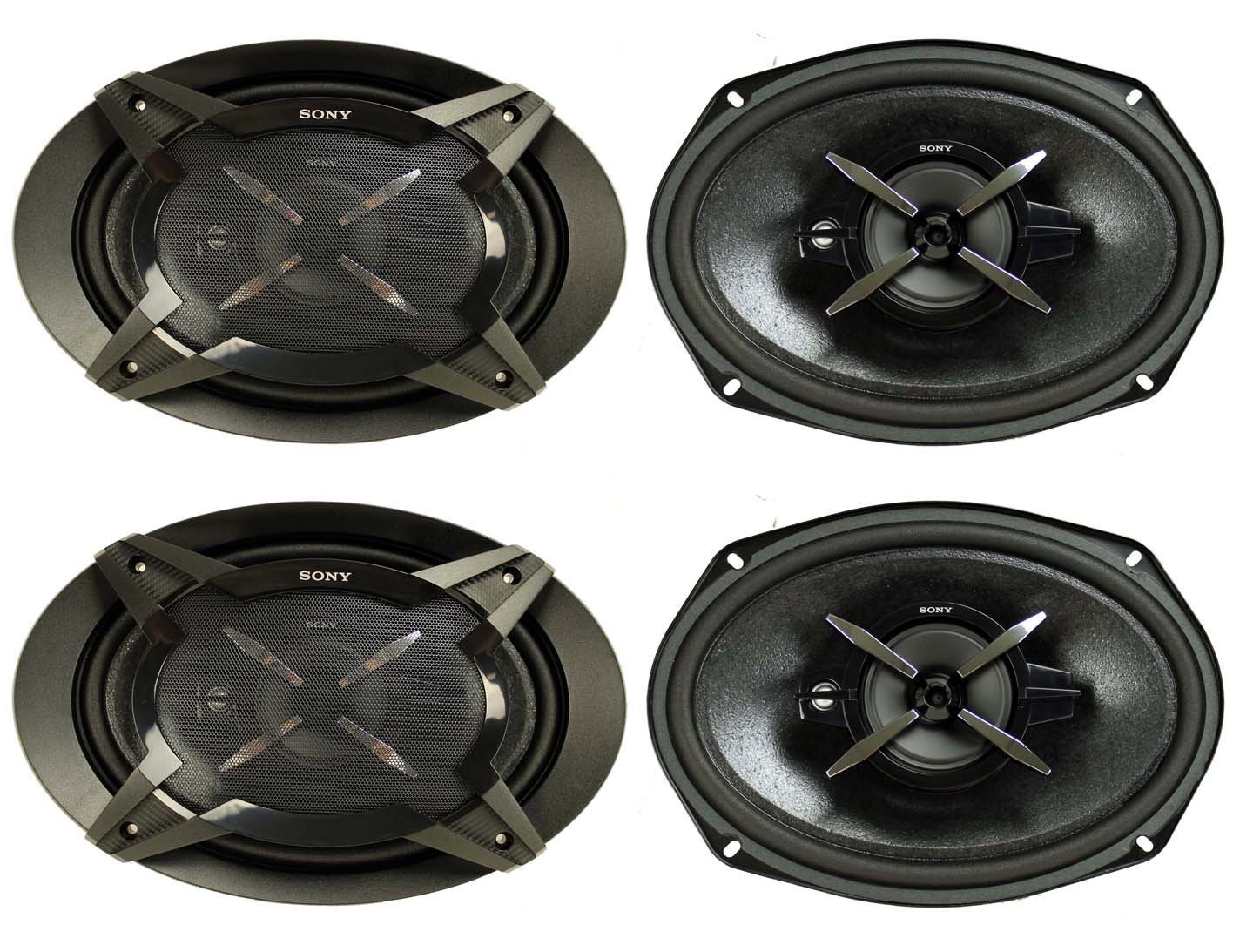 Cheap Sony Car Stereo Speakers Find Deals Speaker Get Quotations 4 New Xsfb6930 6x9 3 Way 900w Coaxial Audio