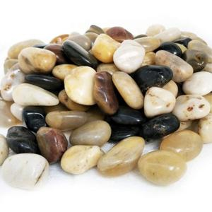 Mixed Color River Stones For Aquariums Landscaping And Vase Fillers
