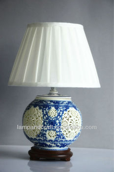 Ancient China Style Hollowed-out Ceramic Blood Lamp For Sale - Buy ...
