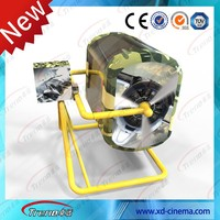 360 degree real 3D/5D/7D/9D feeling with flight simulator cockpits for sale