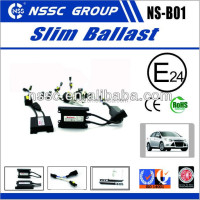 NSSC mini high power super slim hid ballast broken rate blow 0.5% make in China for auto car