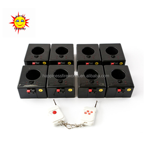 Eight channel remote control indoor fountain base fireworks firing system new arrival