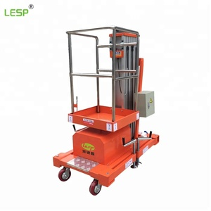 Model Hydraulic Manual Electric Mobile Scissor Lift Platform/Self-Propelled working platform Scissor lift with CE