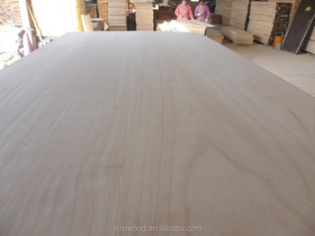 Paulownia edge glued board & laminated board