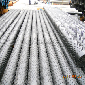 water well screen device bridge slotted screen pipe for sandcontrol