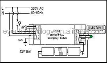 L  Kit Wiring Diagram also Emergency Exit Light Wiring Diagram additionally Bodine Emergency Wiring Diagram further Biasi Boiler Wiring Diagram as well Maxled 47m Emergency Light 230v 1h. on maintained emergency lighting wiring diagram