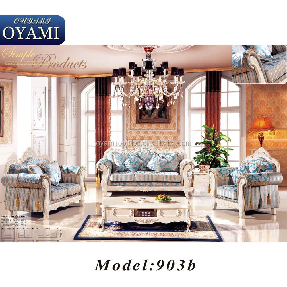 Elegant Rococo Luxury Hotel Room Set