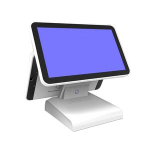 Hot sale All in one 12 inch Touch Screen point of sale POS System with 80mm label thermal printer and Card reader