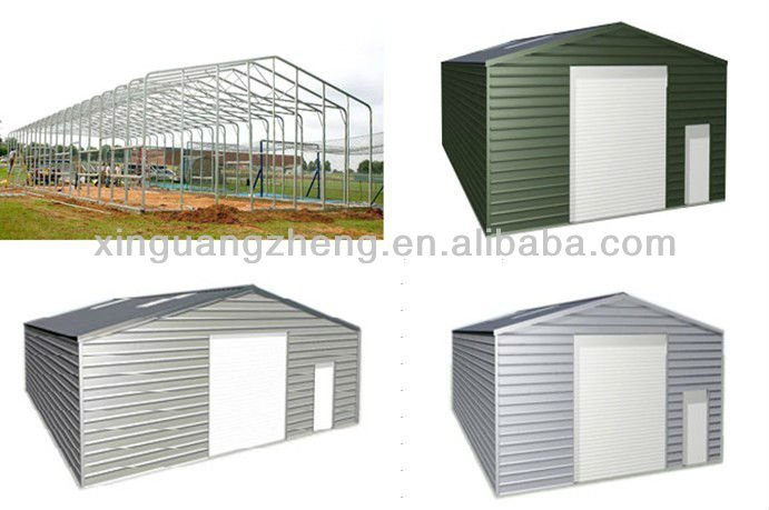 Light Steel Frame Portable Garage /carport/car Garage /steel ...