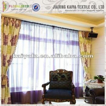 crystal nylon elegant home deco organza window curtains buy