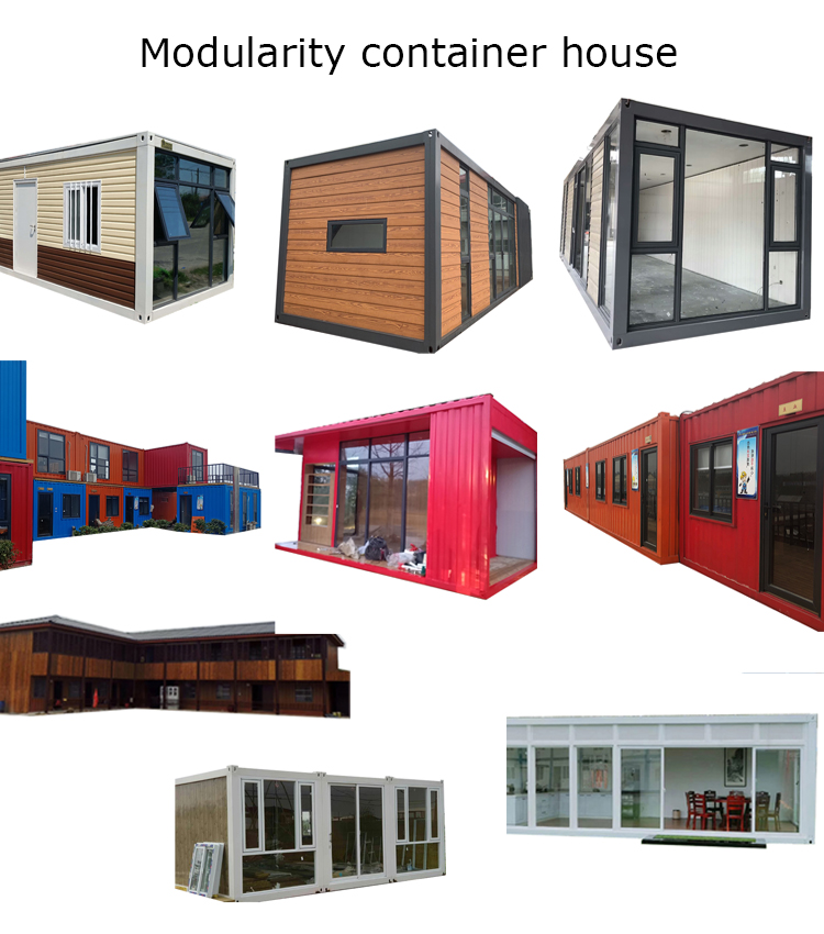 modern module prefabricated foldable homes prefab metal structure frame shipping container building bunk house in chile