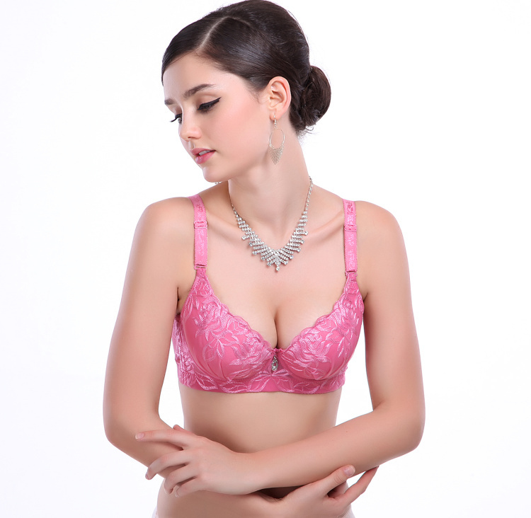 Get Quotations · 2015 new hot!floral Plus size push up bra sexy lace bra  cotton intimate brassiere 7daaf1445