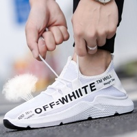 No deformation printing logo rubber pvc shoes for men