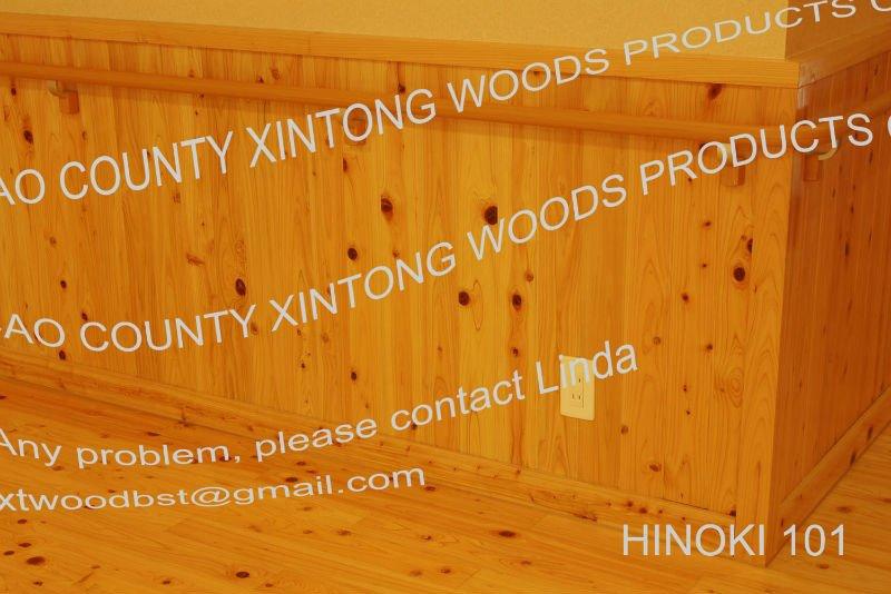 Hinoki Cypress Wall Panels/japanese Cypress Wall Panel