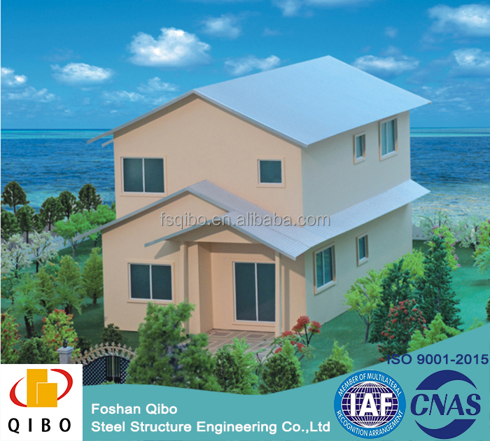 easy asseblemd type villa house modular prefab villa with ISO certificate