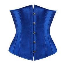d8416b5008 Sapubonva plus size sexy corset underbust bodyshaper costumes corsets  bustiers ladies burlesque corselet red blue black