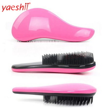 yaeshii 2018 smoothing your hair personalized plastic Detangling Hair Brush