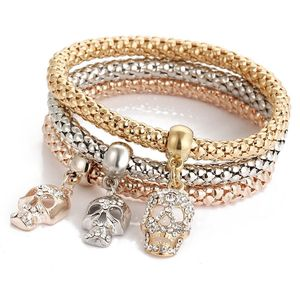 Made In China Hot Selling Fashion Charm Bracelet DIY Style Gold/Silver/Rose Gold Plated Chain Bracelet Cheap Lady Jewelry