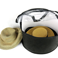 Deco Hat Storage Bag Hat Dust Cover Organizer Hat Fabric Box