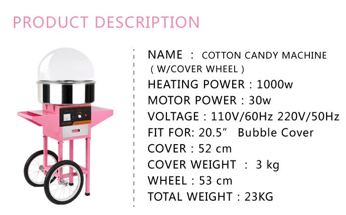 New style japanese floss cotton candy machine for sale