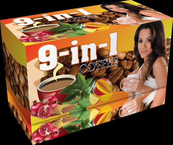 9 in 1 Super Healthy Coffee with Antioxidants