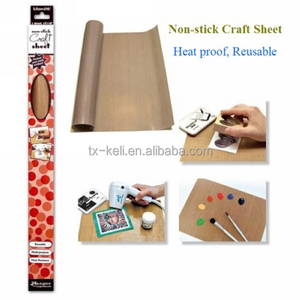Multi-purpose PTFE Non-stick Craft Mat heat resistant and used as baking mat cooking liner mat