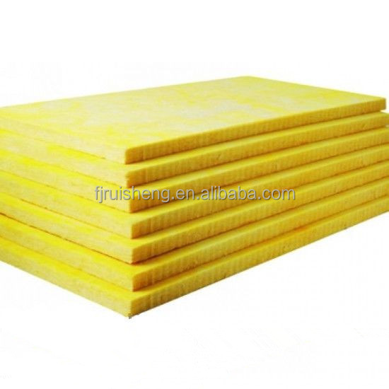 sound absorbing insulation material glass wool board