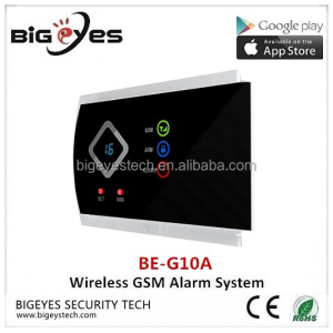 2017 Newest Wireless GSM Auto Dialer, Burglar Security Alarm System APP controlled GSM wireless home alarm system fire alarm