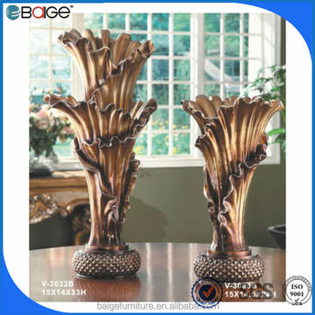 V 3033b classical art craft vase handmade craft from waste for Flower pot making with waste material