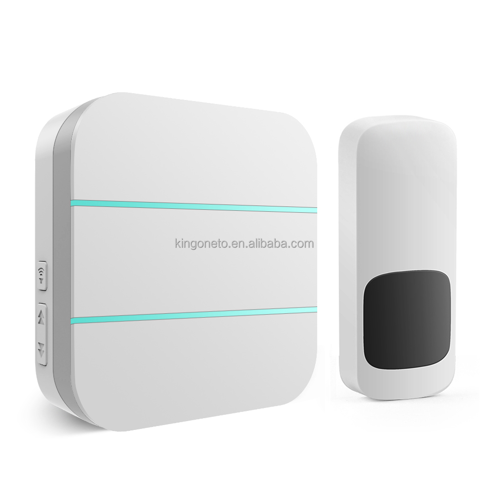 Wholesale EU/US Version long range battery-free and wireless home plug in doorbell