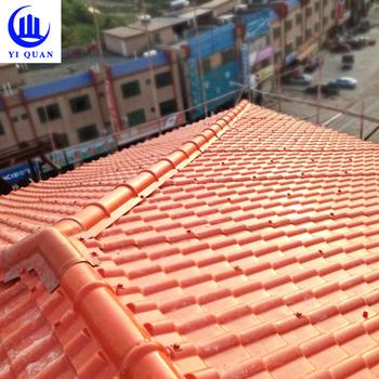 Heat Resistant Materials Plastic House Roman Roof Tile
