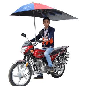 Fantastic sunshade parasol cover waterproof motorcycle umbrella