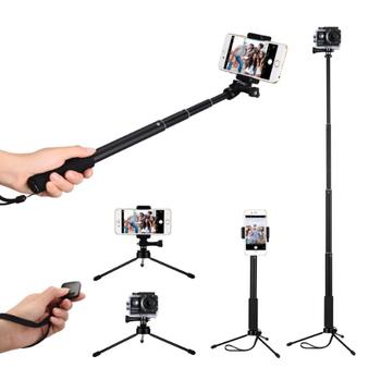 19b517a4efda6b Selfie Stick, Nikow Multifunctional Phone Tripod Selfie Monopod with Bluetooth  Remote Shutter for Smartph
