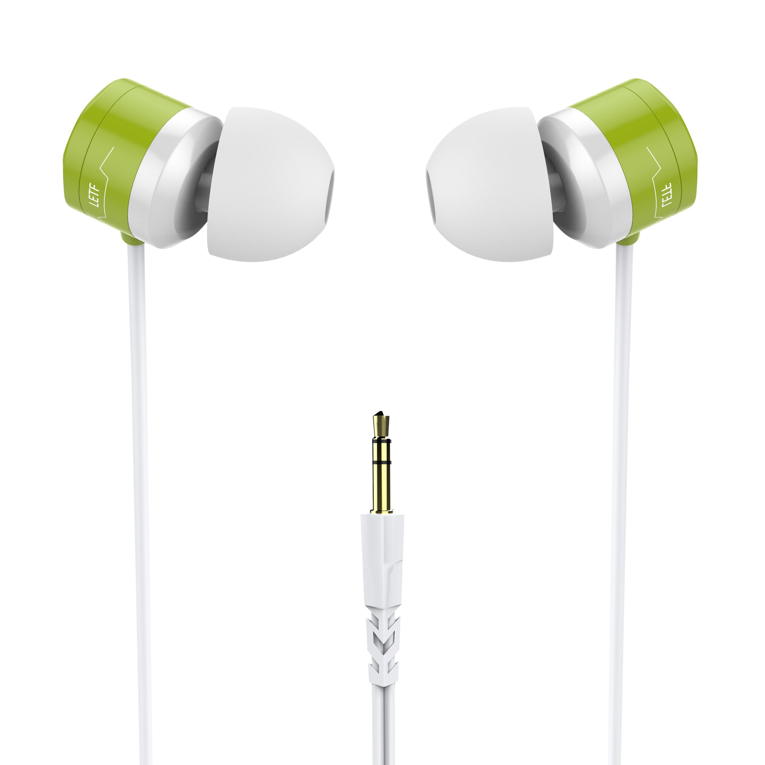 5e46b035539 In Ear Earphones, USTEK WP-593 Earbuds Wired Headphones Waterproof IPX7  Compatible with All