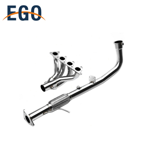 90-93 Stainless Performance Header Manifold Exhaust For Honda Accord F22
