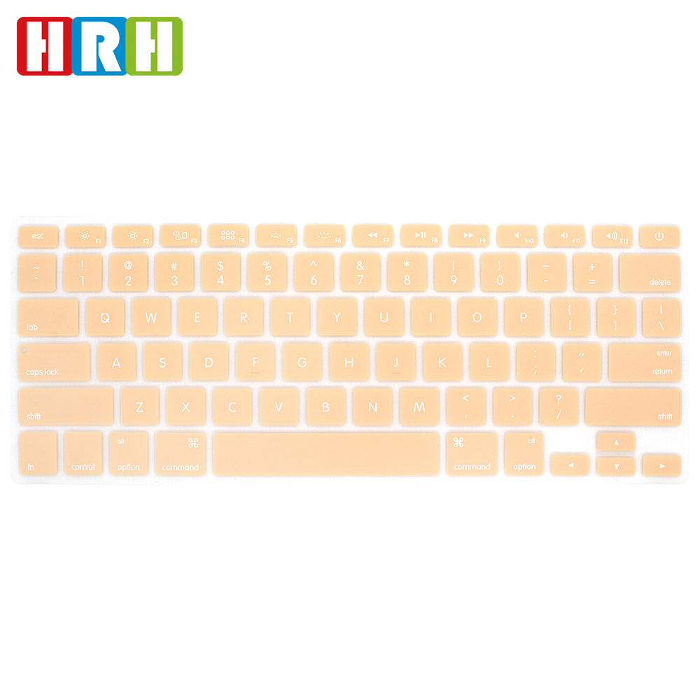 Enghlish laptop haut protector custom silikon tastatur haut für mac air abdeckung air pro retina 13 15 15,6 laptop haut tastatur
