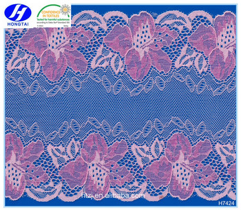 new fancy elastic lace trim New Wholesale Bulk Lingerie Lace Trim For Garment