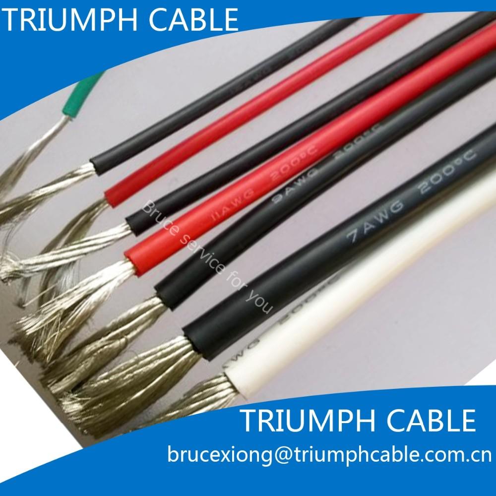 600 V 30awg Untuk 2awg Silikon Fleksibel Kabel Kawat - Buy 16awg ...