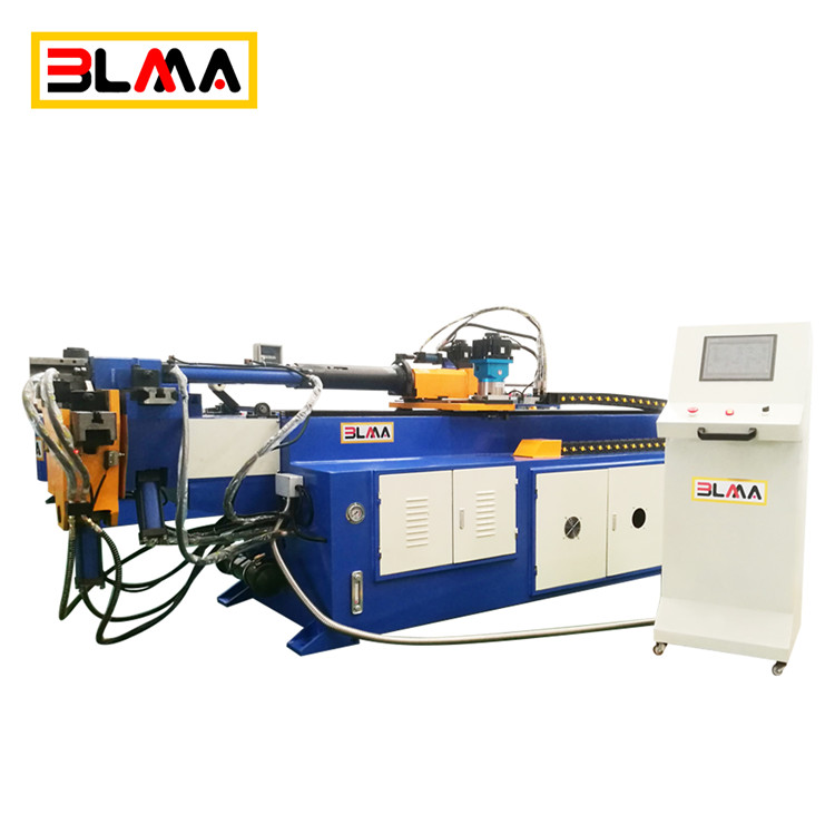 360 degree automatic 3inch air conditioner 5 exhaust cnc electro hydraulic tube pipe bender machine price