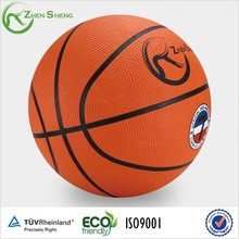Zhensheng Natural Rubber Bounce Basketball Ball