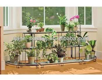 3 Tiered Home Garden Decorative Plant Stand