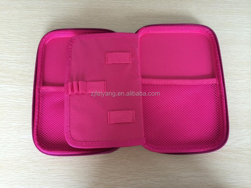 College pencil holder case , OEM school PU eva case